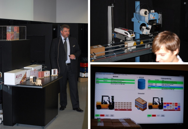 Pictures from the GS1 Smart Centre